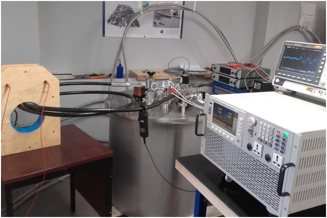 Testing station for SFCL